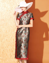 Load image into Gallery viewer, Noble Jacquard Qipao Cheongsam