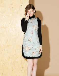 Winter Noble Qipao Cheongsam