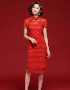 Red Popular Qipao Cheongsam
