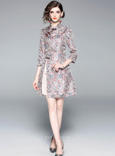 Load image into Gallery viewer, Gardenia Light Gray Qipao Cheongsam