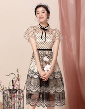 Load image into Gallery viewer, Embroidery Spring Qipao Cheongsam