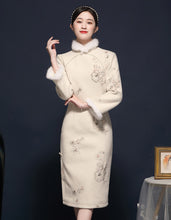 Load image into Gallery viewer, White Dream Qipao Cheongsam