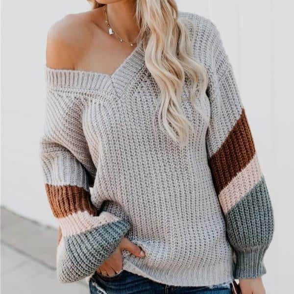 Ruby - Beautiful Knitted Pullover