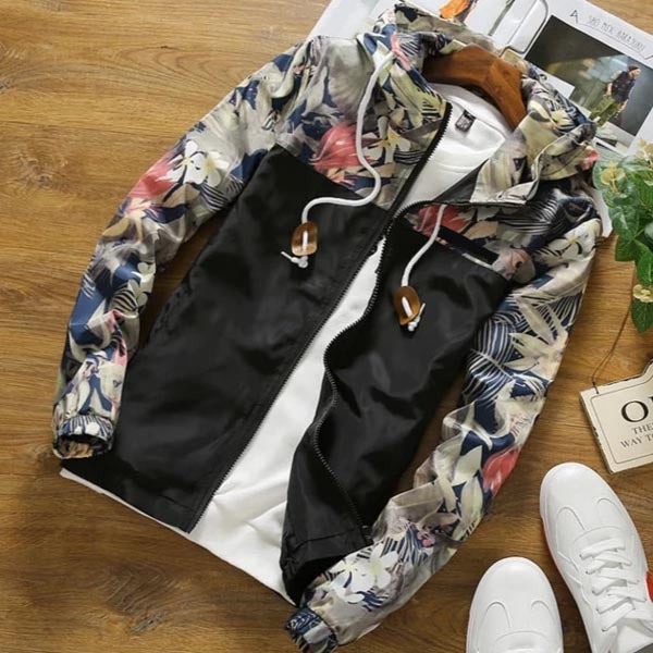 Gianna - Floral Pattern Autumn Jacket