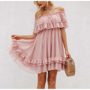 Aria - Chiffon Summer Dress