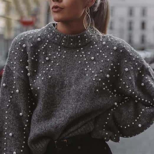Pearl - Stunning Winter Pullover