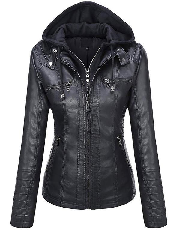 Bonnie - Faux Leather Jacket