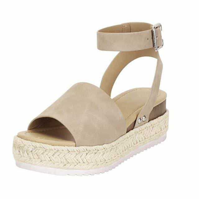 Cleopatra - Beautiful Summer Espandrillos - Beige / UK:4/US:4.5/EU:35