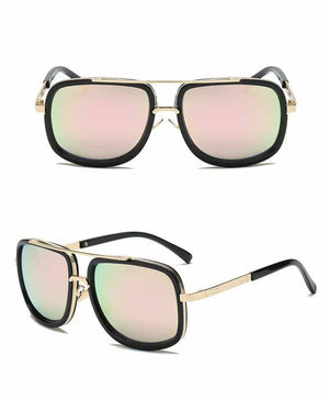 Vintage Guy - High Quality Sunglasses - Pink - Sonnenbrillen