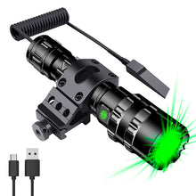 Load image into Gallery viewer, UltraFire UF-1102 Torch USB Charging 5 Mode LED Bright Waterproof Flashligh Set