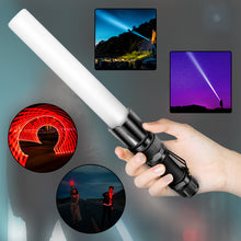 将图片加载到图库查看器,UltraFire UF-PY11Multifunctional Four-in-one RGBW Four-light Source Focusing Signal bar Flashlight