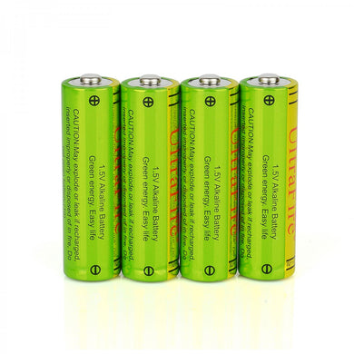 UltraFire  AA 1.5 Volt Performance Alkaline Batteries - Pack of 4 Grain