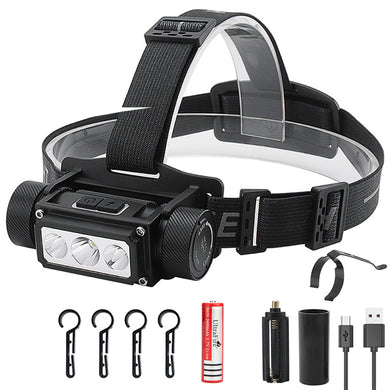 UltraFire Multifunction 21700 Headlight USB TYPE-C Rechargeable Headlight