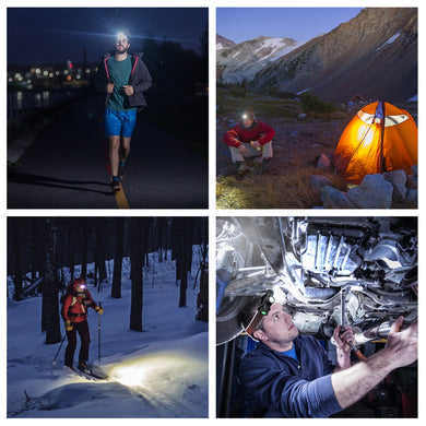 UltraFire 800 Lumen Rechargeable LED Headlamp Kit