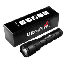 将图片加载到图库查看器,UltraFire 502UV Flashligh Super Power Ultraviolet 395nm UV LED Flashligh