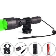 Load image into Gallery viewer, UltraFire H-G3 Green light Hunting Flashlight