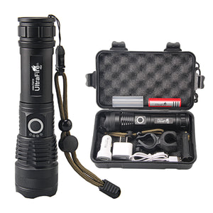 UltraFire UF-P63 XHP50 USB Charging Dimming Flashlight