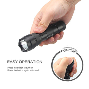 UltraFire WF-502B Cree XP-L V6 1000lm 1-Mode Flashlight