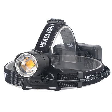 UltraFire XHP70.2 USB Charging Input and Output Zoom  Headlights