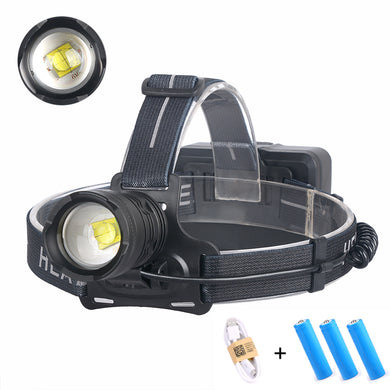 UltraFire XHP70 Headlight USB Charging Power Output 30W High Power Searchlight