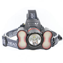 Load image into Gallery viewer, Ultrafire 3006-A1 1800 Lumens Led Rechargeable Light Sensitive Headlamp