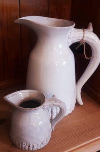 Small Grey Antler Milk Jug