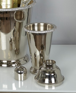 Glitz Nickel Cocktail Shaker