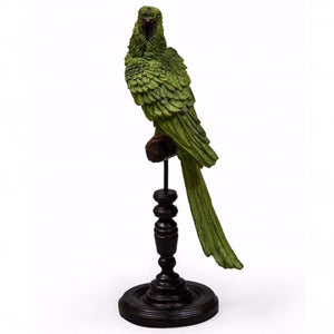 Parrot on Perch Figure