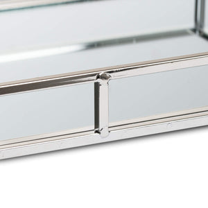Small Rectangular Silver Bar Tray