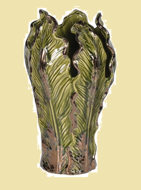 Cabbage Leaf Vase