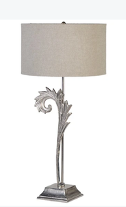 Medium Swirl Lamp with Shade