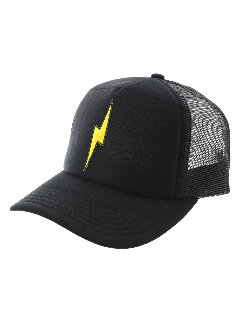 Lightning Bolt Patch Trucker Hat