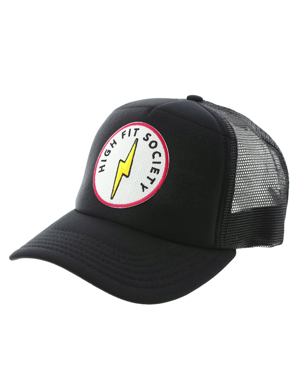 High Fit Society Patch Trucker Hat