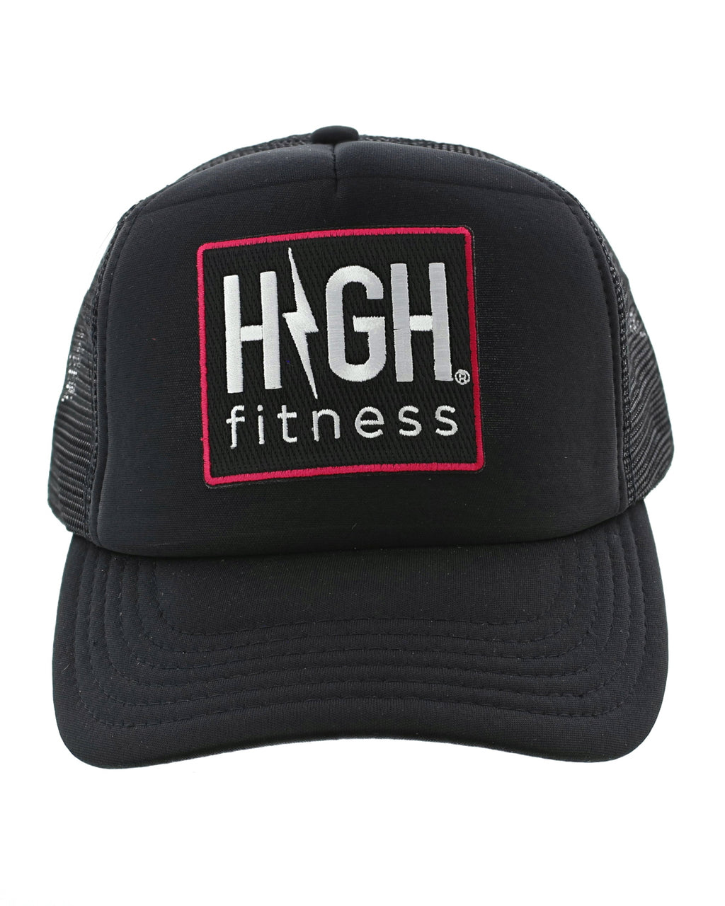 High Fitness Patch Trucker Hat