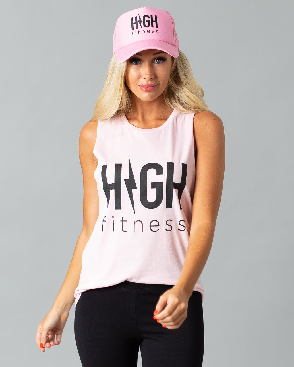 Summer Jams Tank & Hat Set | Pink