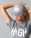 Summer Jams Fav T & Hat Set | Athletic Grey