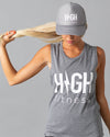 Summer Jams Tank & Hat Set | Athletic Grey
