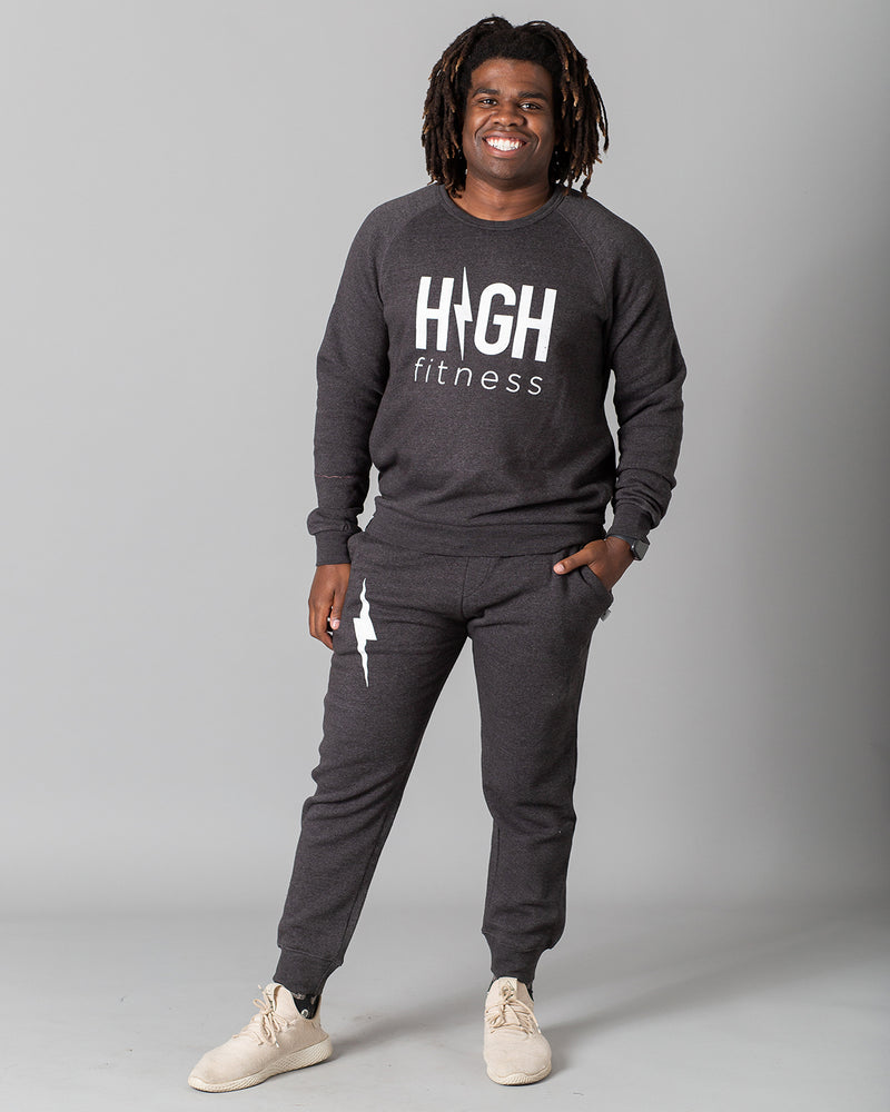 Classic HIGH Sweatshirt | Charcoal