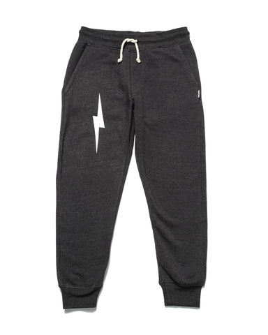 Classic HIGH Sweatshirt & Bolt Sweatpants | Charcoal