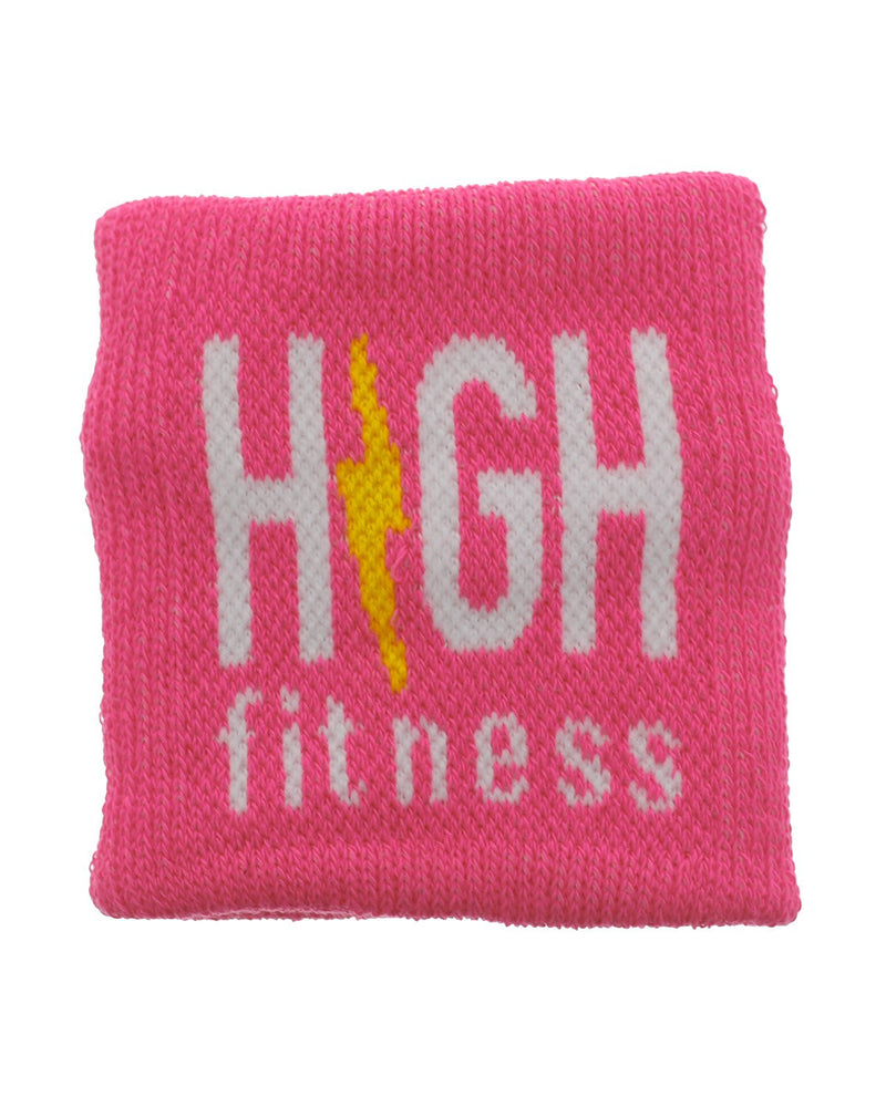 Pink HIGH Fitness Sweatband