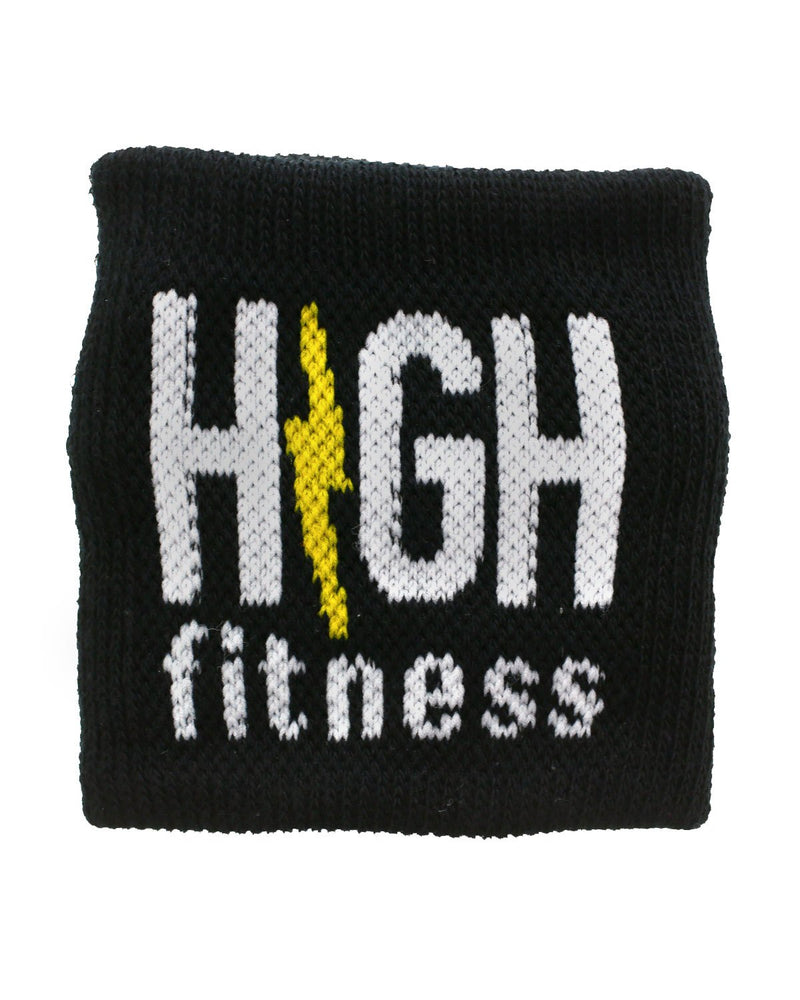 Black HIGH Fitness Sweatband