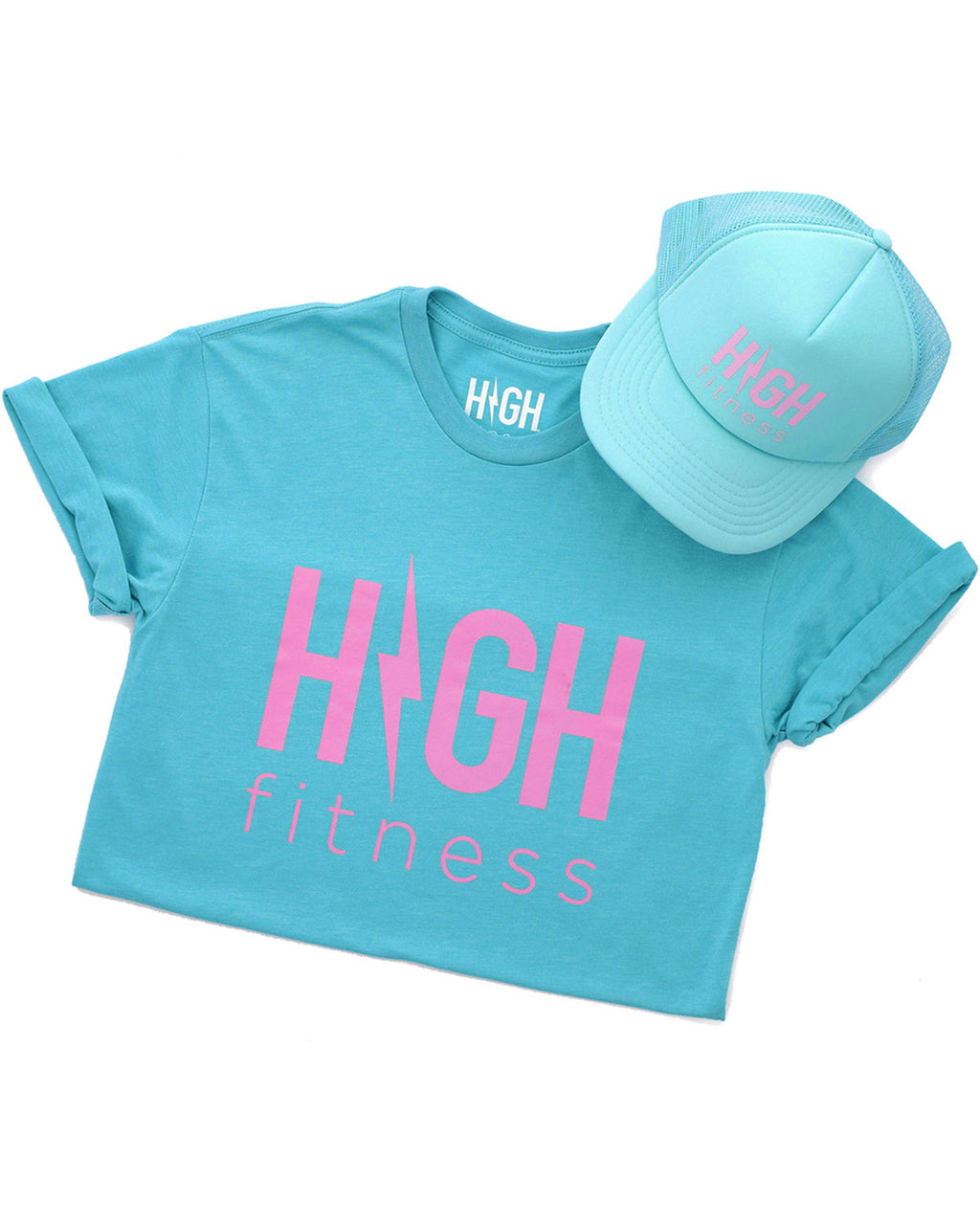 Summer Jams Fav T & Hat Set | Teal