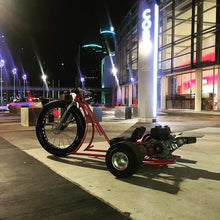 "Load image into Gallery viewer, 26"" Fat Tire Gas Powered Drift Trike"