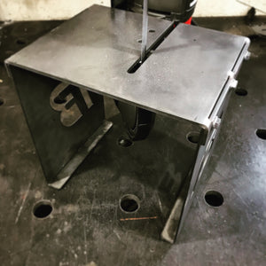 CNC Plasma Cut Bandsaw Table for Fabricators