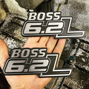 Custom CNC Machined Billet Aluminum Emblem