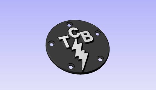CUSTOM ORDER: CNC Machined TCB Harley Timing Covers