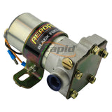 "BLACK FUEL PUMP 140 GPH       3/8"" BARB OR F/MALE 3/8"" NPT"