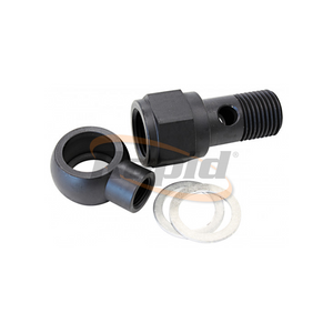 "LS CHEVY OIL PRESSURE ADAPTER ALLOWS 1/8"" NPT AUX PORT STEEL"