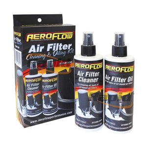 AEROFLOW AIR CLEANING KIT 296ml / 10oz OF EACH CLEANER & OIL