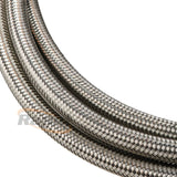 SS TEFLON BRAIDED HOSE -4AN   1M CLAMSHELL PACK 8MM OD
